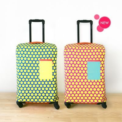 Carrier Cover. Dot pattern, twilll span. neon color, T-shirt design, Candy Pop, invito