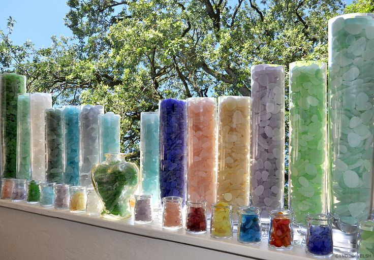 Sea Glass... I would love to have this collection, for some great jewelry projects.
