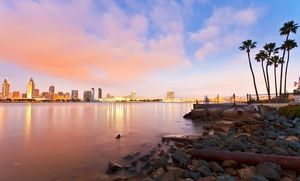 Groupon - Stay at 3.5-Star Mystery Hotel in San Diego, with Dates into September in San Diego. Groupon deal price: $89