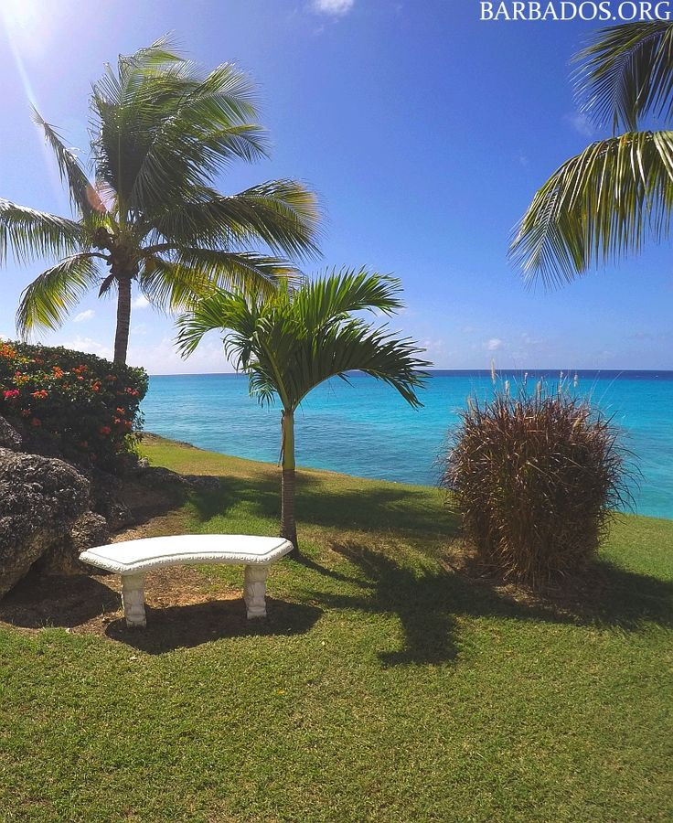 This small park overlooking Enterprise on the south coast of #Barbados offers magnificent ocean views in a tropical garden.