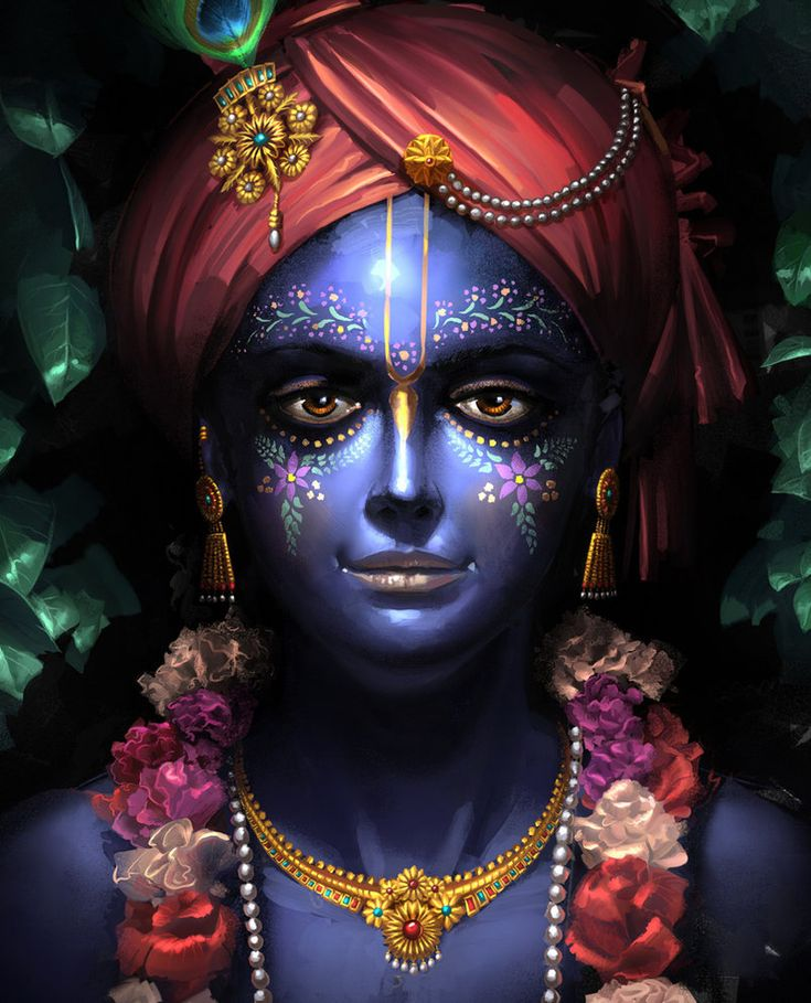 KRISHNA by ~CHERDAK on deviantART