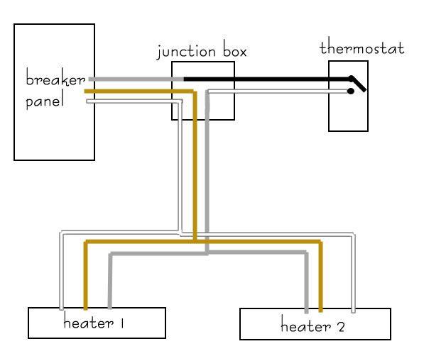 fahrenheat electric baseboard heater wiring diagram Baseboard Heater Wiring Diagram