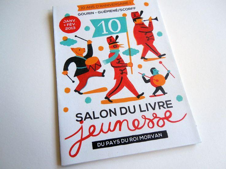 Salon du livre jeunesse bretagne laurent moreau book design pinterest - Salon du livre en bretagne ...