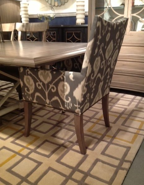 Add Some Style To Your Dining Room With Custom Upholstered Chairs! HGTV  Furniture Offers Over
