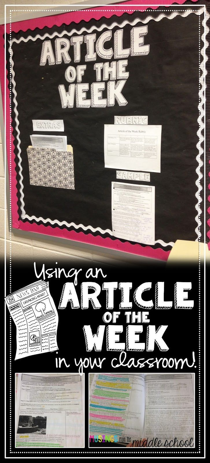 Musings from the Middle School: Article of the Week                                                                                                                                                      More