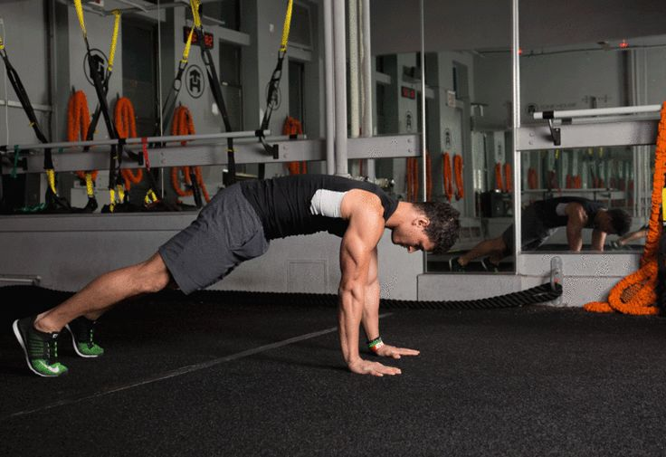 5. Plank Arms Walk-Out #abs #workout #exercises http://greatist.com/move/abs-workout-unexpected-moves-that-work-better-than-crunches