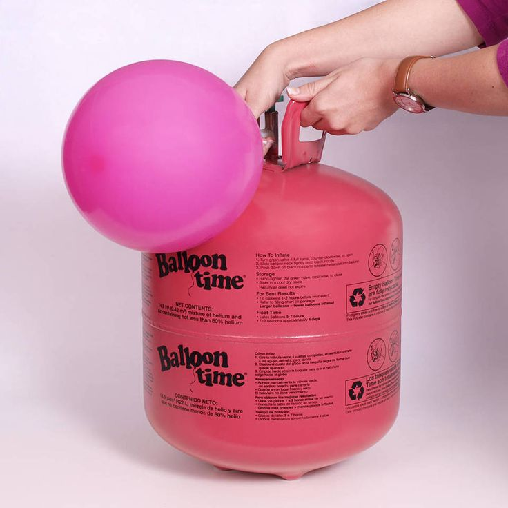 how to dispose of helium tank from party city