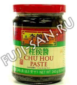 """Паста Chu Hou Lee Kum Kee, из черных бобов, 240г ― """"Фудзи-сан"""" - продукты для азиатской кухни"""
