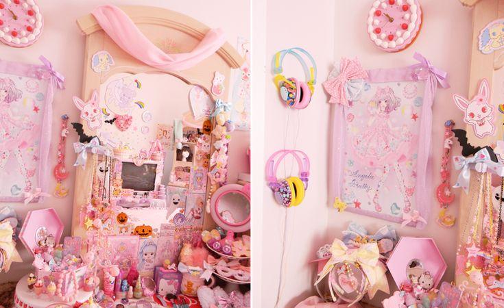 egl: My Sweet Lolita Room!  I wish this was my room :(