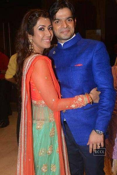 Karan Patel and Ankita Bhargava's 'sangeet' ceremony