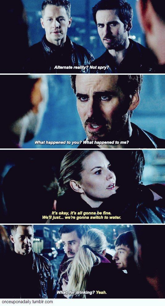 This was just excellent. Hook's like *Tell me m! What happened to my beautiful dashing self? I can take it*