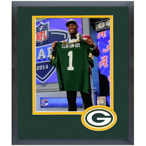 Ha Ha Clinton-Dix Green Bay Packers NFL Draft Framed Photo Mat - $44.99