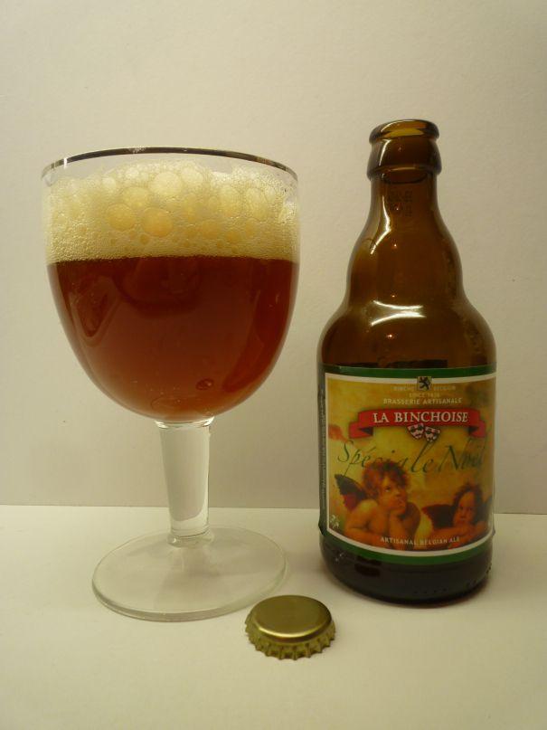 Brasserie La Binchoise - La Binchoise Speciale Noel(Strong ale) 9,0% pullo