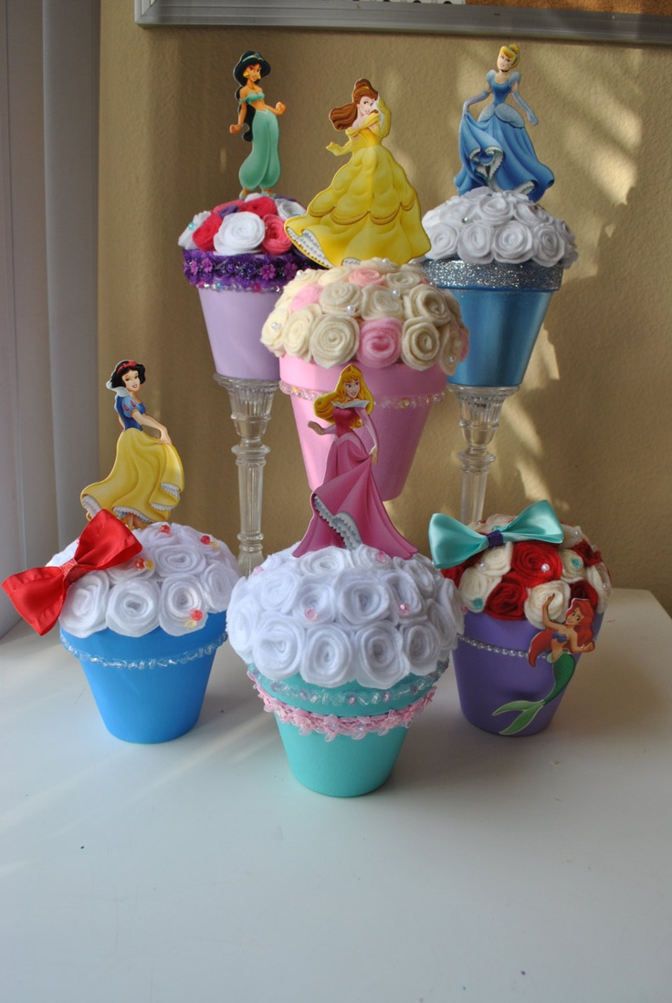 Disney Princess Centerpiece collection. $98.00, via Etsy.