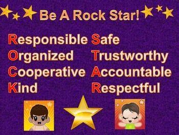 ROCK 'N ROLL CLASSROOM SIGNS - $TeachersPayTeachers.com $