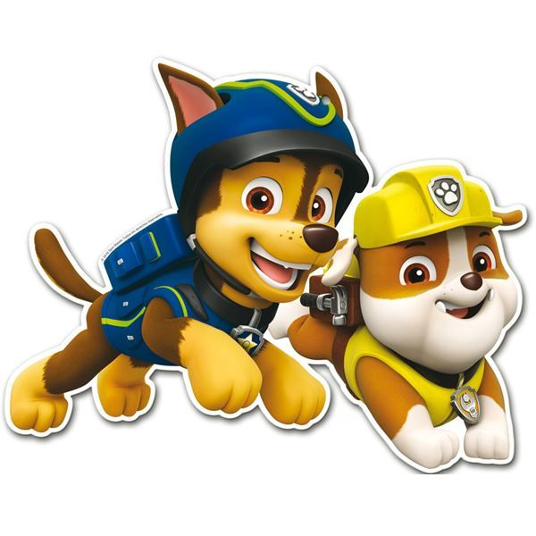 Ver detalles de Troquelados Patrulla Canina Chase y amigos (2)