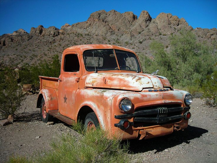 Nelson Ghost Town Old Truck Oct 2014