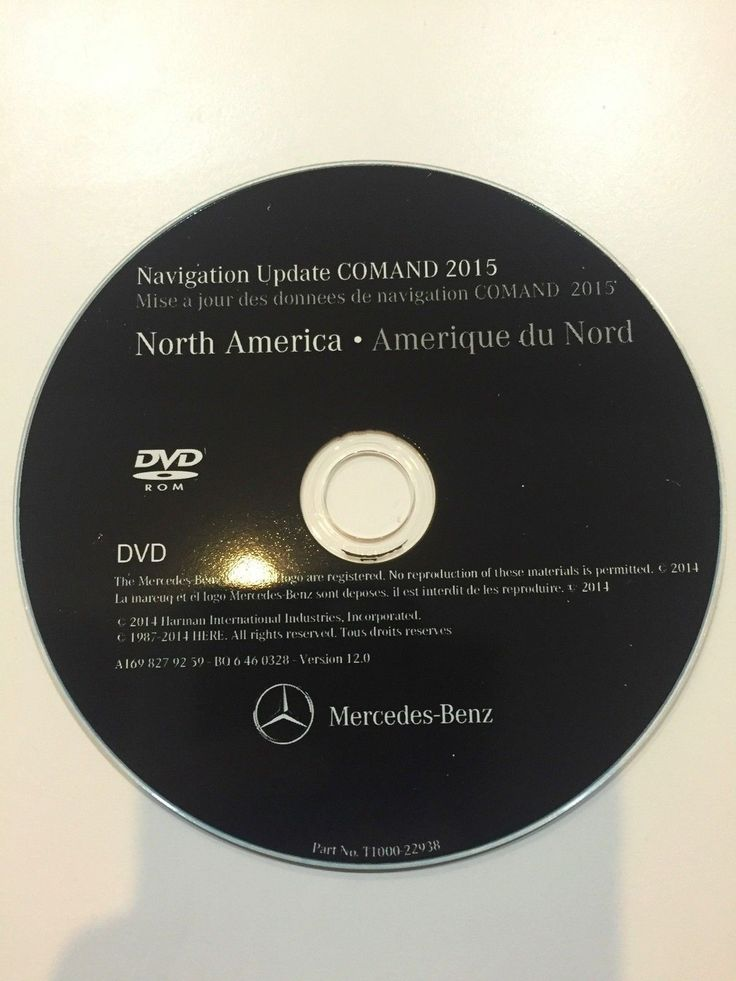 Awesome Great Mercedes-Benz GL-Class 2007 2008 North America v12 Navigation DVD Maps 2018