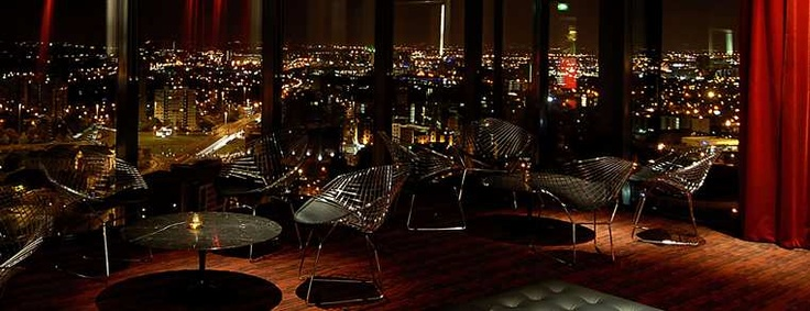 Cloud 23 Skyline bar at the Hilton Manchester Deansgate hotel