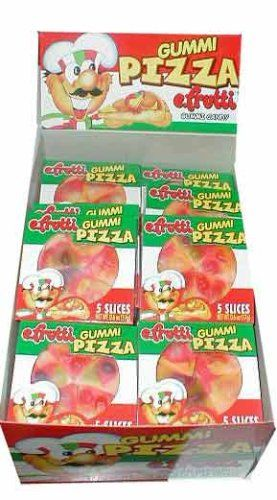 Gummi Pizza by E-Fruitti 48 Count: Amazon.com: Grocery & Gourmet Food