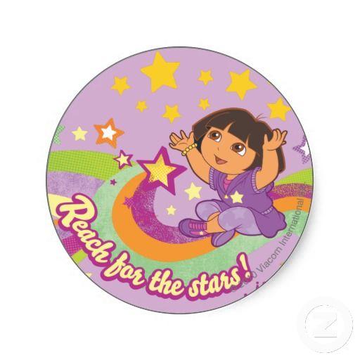 Dora The Explorer - Reach for the Stars Stickers