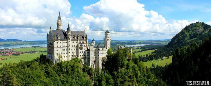 T♡T blogpost: Ben je van plan om met de auto op vakantie te gaan richting Oostenrijk of Kroatië, dan zou ik zeker een tussenstop maken bij het sprookjesachtige kasteel: NEUSCHWANSTEIN. Ik was en ben nog steeds e…