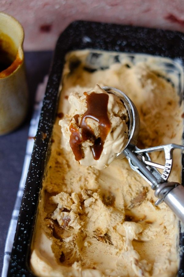 Muscovado Caramel No Churn Ice Cream | Patisserie Makes Perfect