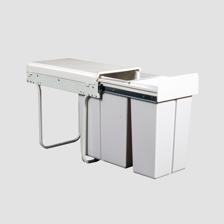 Bin Kitchen Conceald Kimberley 20l/10l S/o Twin Slim Krb30