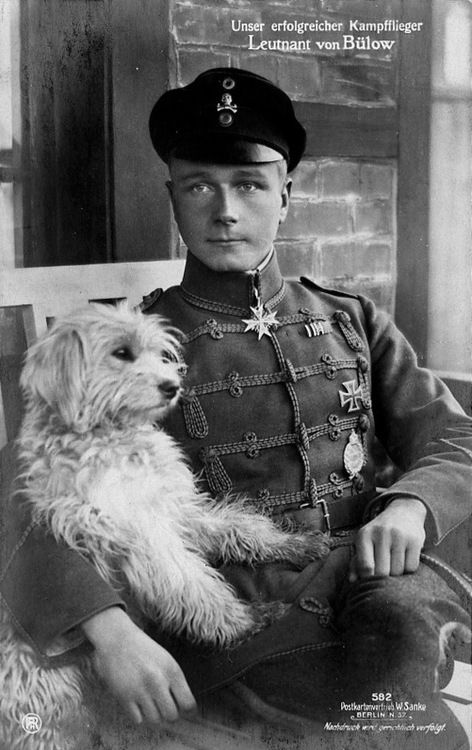Lieutnant Walter von Bülow-Bothkamp (24 April 1894 – 6 January 1918), Pour le Merite, Military Order of Saint Henry, Iron Cross was a German fighter ace from an aristocratic family who was credited with 28 victories.  On 6 January 1918, Walter von Bülow-Bothkamp led his wingmen into a dogfight against No. 23 and No. 70 Squadrons of the Royal Flying Corps near Ypres. He did not survive. RFC aces Captain Frank G. Quigley and Captain William M. Fry are believed to be his conquerors.