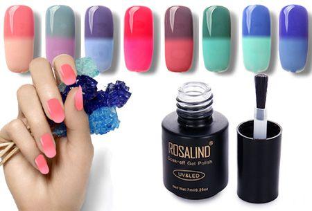 Colorchanging nagellak met UV LED lamp | De temperatuur bepaalt de kleur van jouw nagels