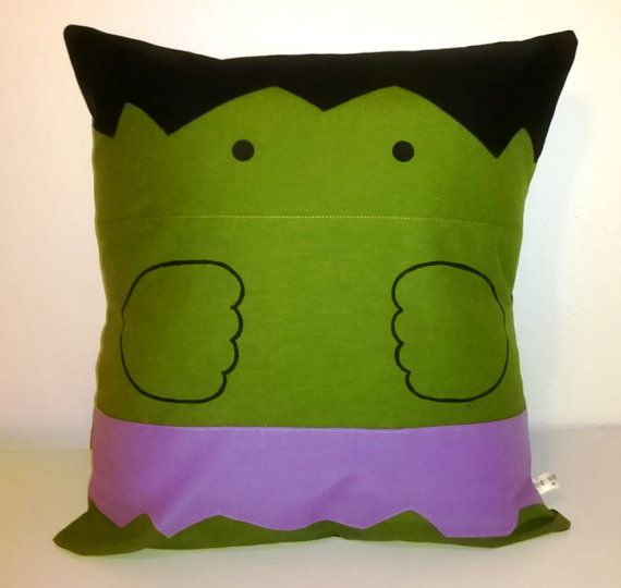 Hulk Comic Pillow Cover Kawaii Marvel Cushion Cover by Morondanga