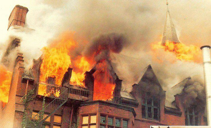 Vanderheyden Hall Fire, Spring Ave | Troy,NY | Pinterest ...