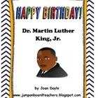 This unit includes an original song and short story honoring Martin Luther King, Jr.  We celebrate Dr. King's birthday on January 21, 2013.  The students will be able to take a glimpse into Dr. King's life and write their own dream to use for a individual craft or to make a class book. Fun worksheets are also included to complete this unit.