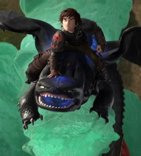 Hiccup and Toothless the two Alphas protecting their village of Berk! LOOK AT HICCUPS FACE!!!! So fierce!