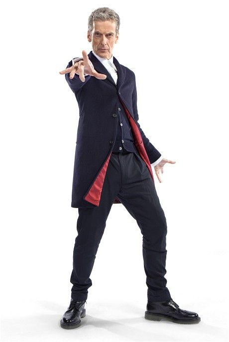 First image of Peter Capaldi's Doctor Who costume - Telegraph - I think it's perfect for him!
