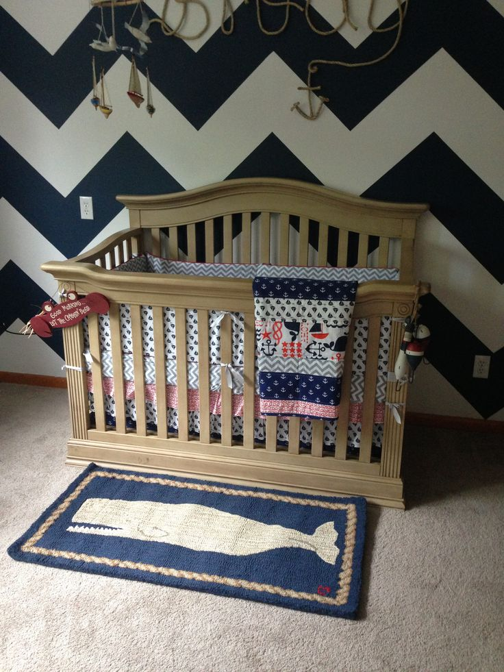 Perfect Nautical Nursery   Baby Cache   Montana In Driftwood