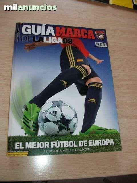 Vendo Guía de fútbol marca 2009. Anuncio y más fotos aquí: http://www.milanuncios.com/otros-coleccionables/guia-de-futbol-marca-2009-127104482.htm