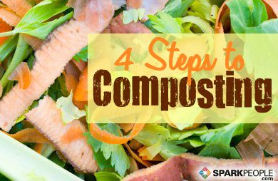 A Beginners Guide to Composting: #Compost is a great way to fertilize your garden without chemicals and it also uses up your kitchen and yard waste instead of sending it to a landfill. Here's how to do it right. | via @SparkPeople