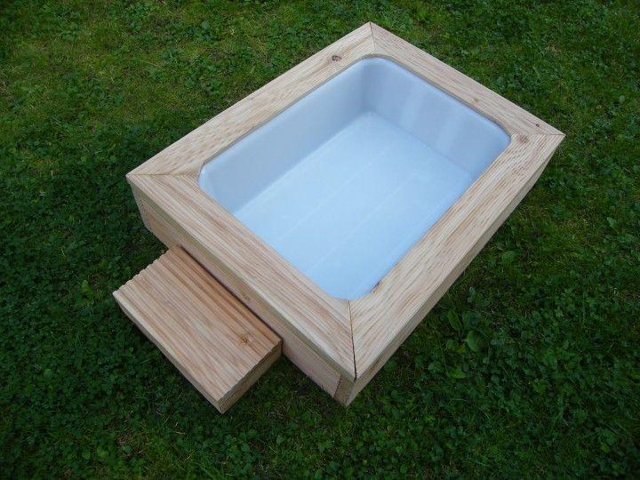 die 25 besten ideen zu hunde pool auf pinterest hunde schwimmingpools niedliches hundezeug. Black Bedroom Furniture Sets. Home Design Ideas