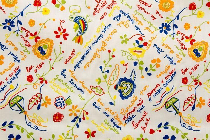 Vidal Tecidos | Produtos | Lenços dos Namorados TE400-114