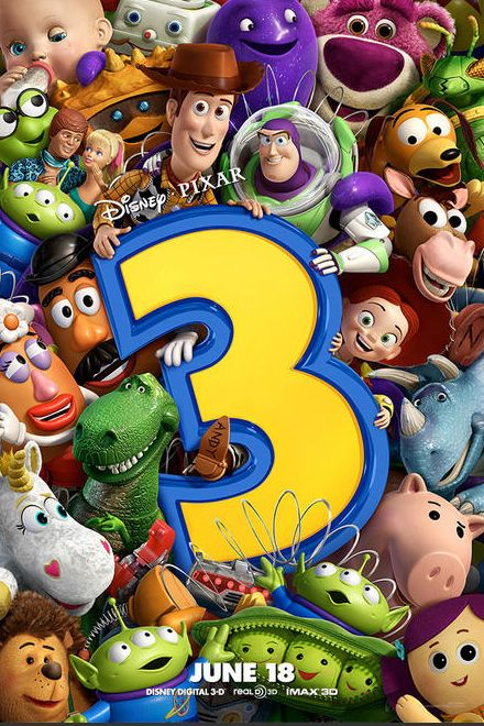 Toy Story 3 | Movie Posters | Pinterest