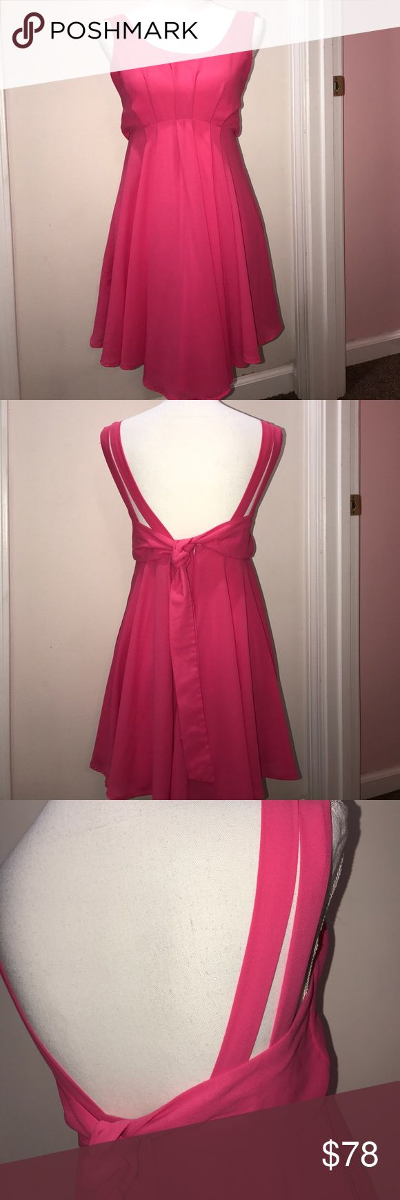 Tea n Cup Pink Dress with Double Straps Size Small Size Small Tea n Cup Dresses