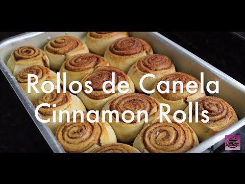 Rollos De Canela Caseros (Cinnamon Rolls) - Silvana Cocina Y Manualidades - YouTube