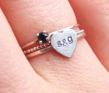 Custom Stacking Ring Sets