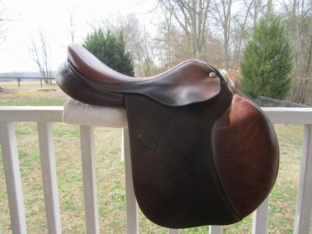 """Georgia Tack - English Saddles For Sale - N. Pessoa Legacy XP Cuir de France Saddle-17"""""""