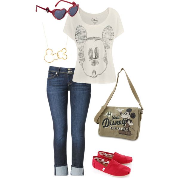 """""""Disney Vacation Outfit"""" by nichole-mathes on Polyvore"""