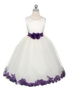 Lilac, Purple Flower Girl Dresses