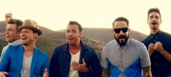 """Backstreet Boys - """"In a World Like This"""" (music video premiere) http://www.examiner.com/article/backstreet-boys-celebrate-a-history-of-love-with-a-world-like-this-video"""