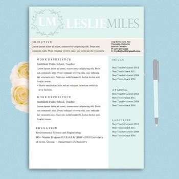 7 best Laurel stone bridge resume template images on Pinterest - resume template docx