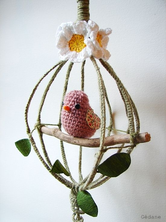crochet - Hibou au tricotin - fouet et crochet,… - broche cerises - cache ton pot au… - chat au crochet - cadre papillon au… - Woody l'oiseau au… - The serial… - porte-clefs au… - fleurs miniatures… - Ernest version bleu - balles au crochet - Happiness le blog by Gédane